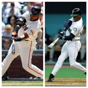 Two totally different power hitters... But both masters of the fundamentals at point of contact.