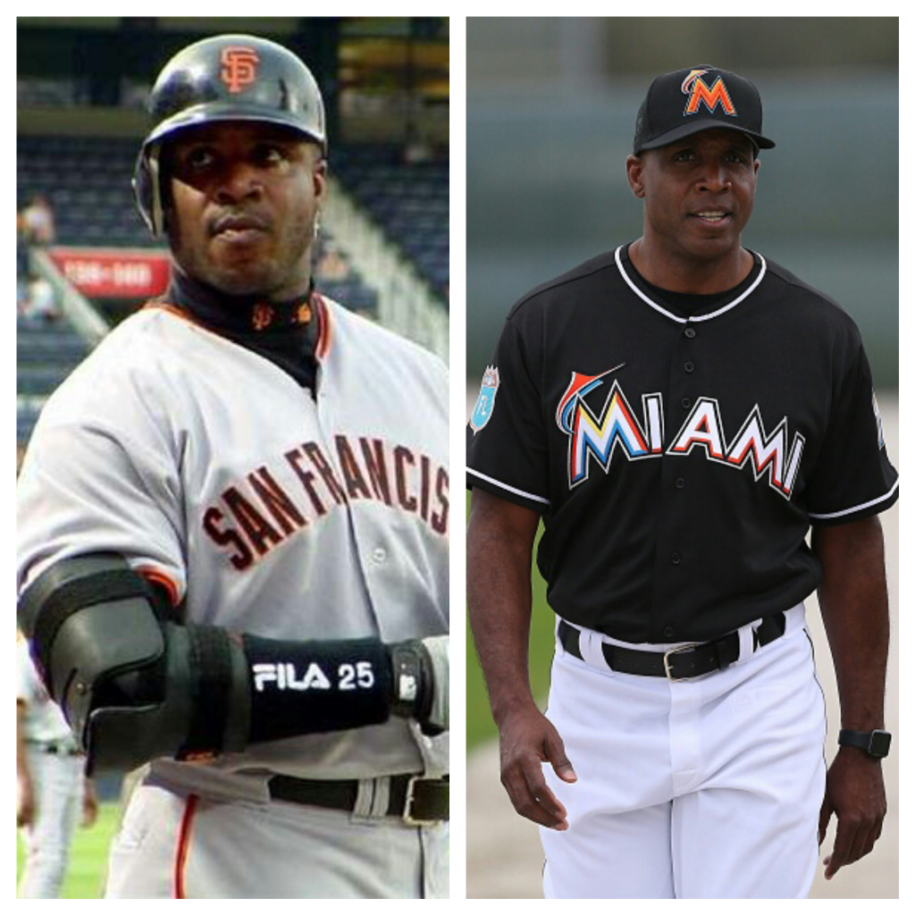 Giancarlo Stanton >> Barry Bonds Beat the Miami Marlins in a Home Run Derby ...